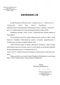 R E F E R E N C J E Anielewicza 47a